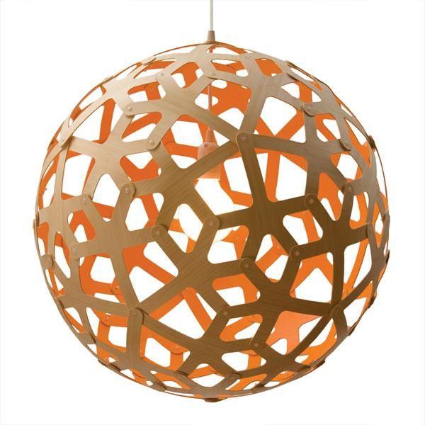 David Trubridge Coral Ø100 Orange Pendel