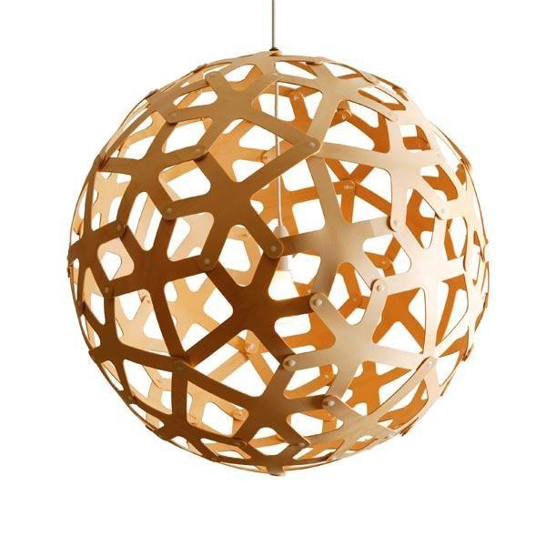 David Trubridge Coral Ø80 Bambus Pendel