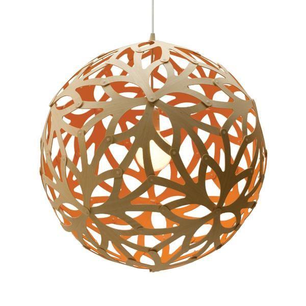 David Trubridge Floral Ø80 Orange Pendel