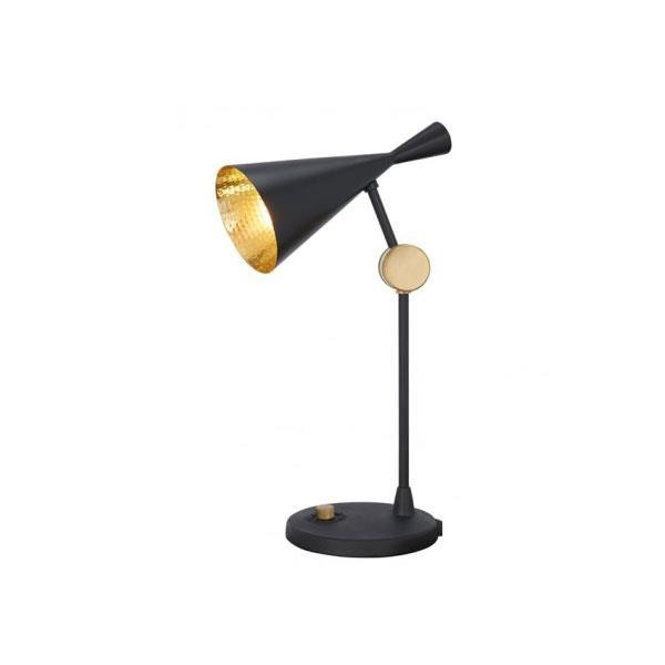 Tom Dixon Beat Bordlampe Sort & Messing