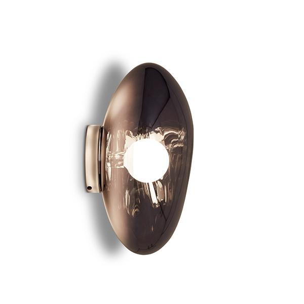 Tom Dixon Melt Surface Bord/Væglampe Røgfarvet fra Tom Dixon