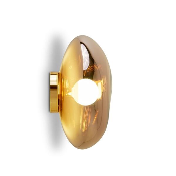 Tom Dixon Melt Surface Bord/Væglampe Guld fra Tom Dixon