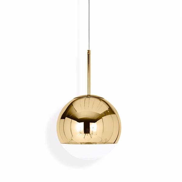 Tom Dixon Mirror Ball Pendel Guld Lille