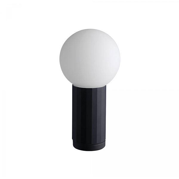 HAY Turn On Bordlampe Sort